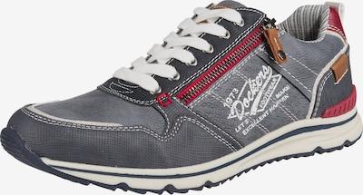 Dockers by Gerli Sneaker in taubenblau / weiß, Produktansicht