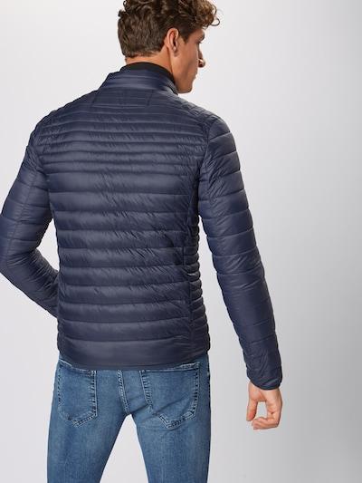 INDICODE JEANS Prehodna jakna 'Amare' | mornarska barva: Pogled od zadnje strani