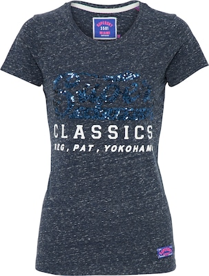 Superdry Koszulka 'CLASSIC SEQUIN ENTRY'