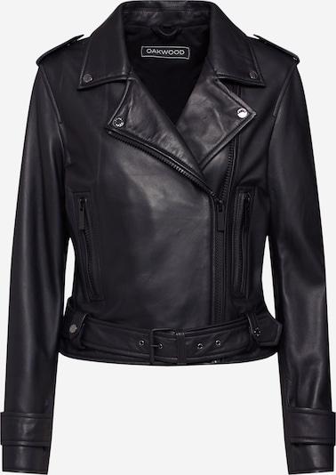 OAKWOOD Lederjacke 'Show' in schwarz, Produktansicht