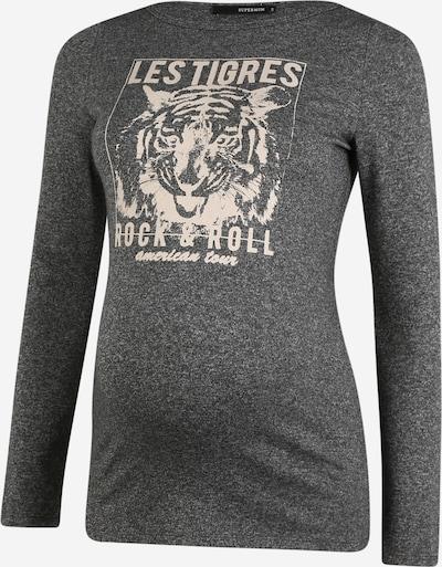 Supermom T-shirt 'Les Tigres' en gris chiné / rose clair, Vue avec produit