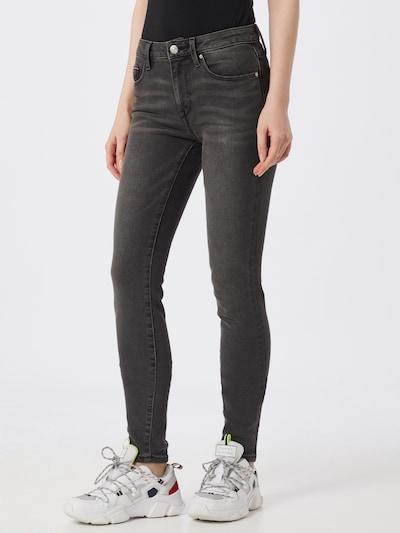 TOMMY HILFIGER Jeans 'COMO SKINNY RW DORAN' in grey denim / dunkelgrau, Modelansicht