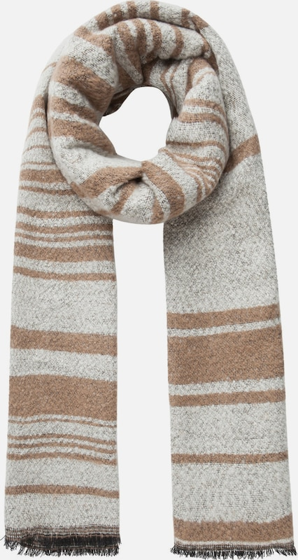 Pieces Striped Scarf