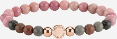 Liebeskind Berlin Armband in braun / rosegold / rosa, Produktansicht