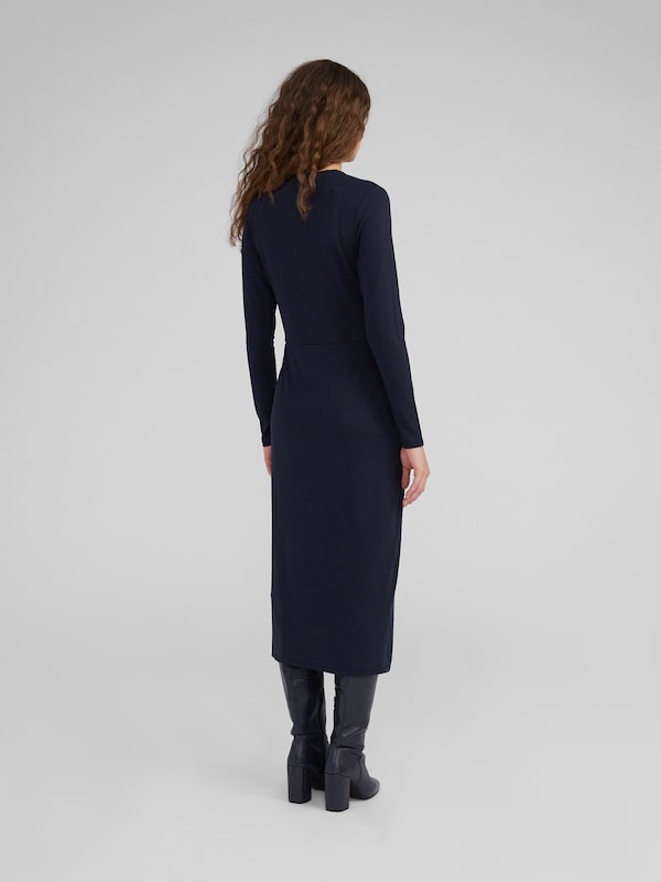 EDITED Kleid 'Meryl' in navy: Rückansicht
