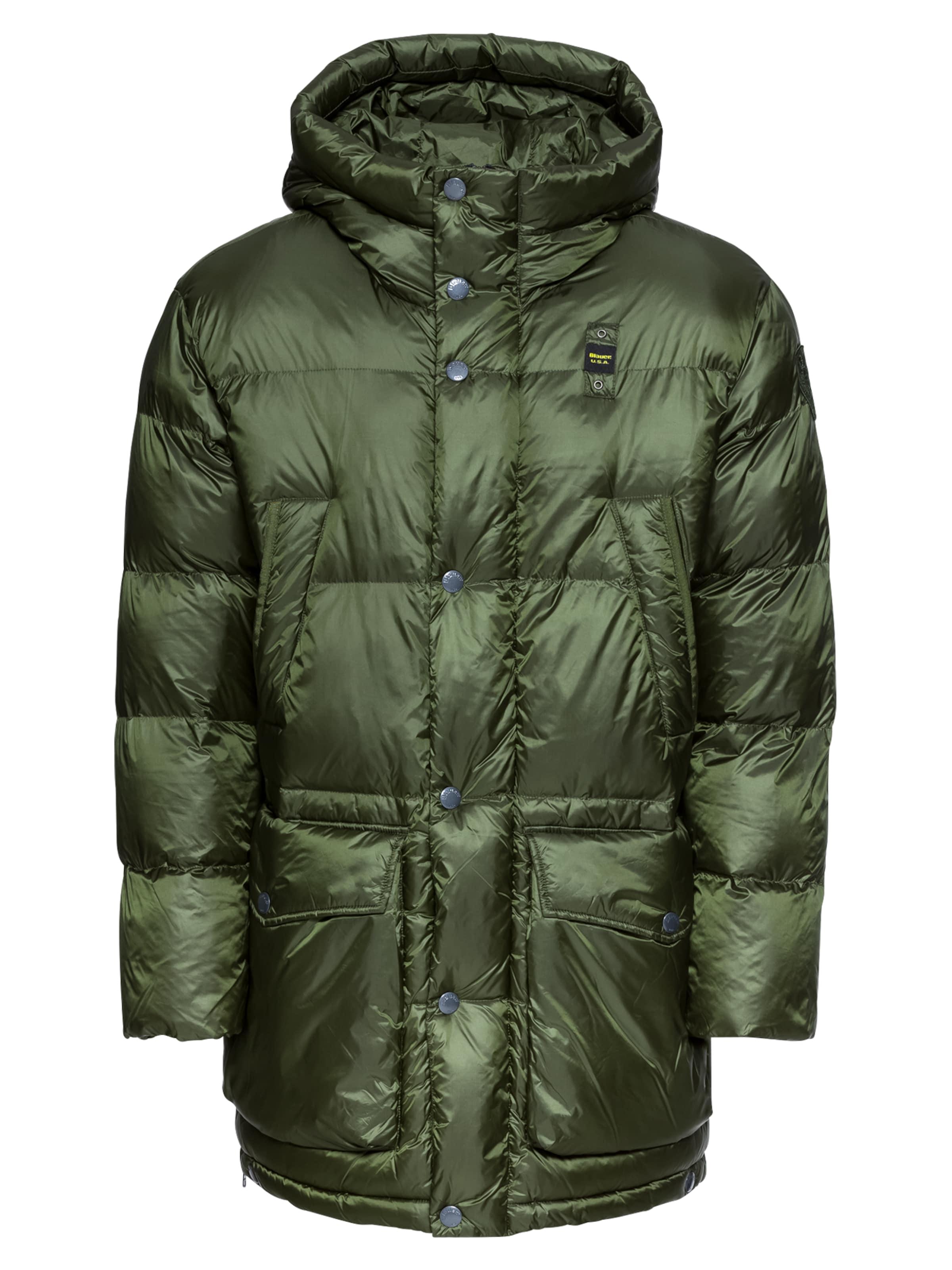 Vert D'hiver En 'blouson Blauer Manteau Imbotttito' usa aYwqOH84