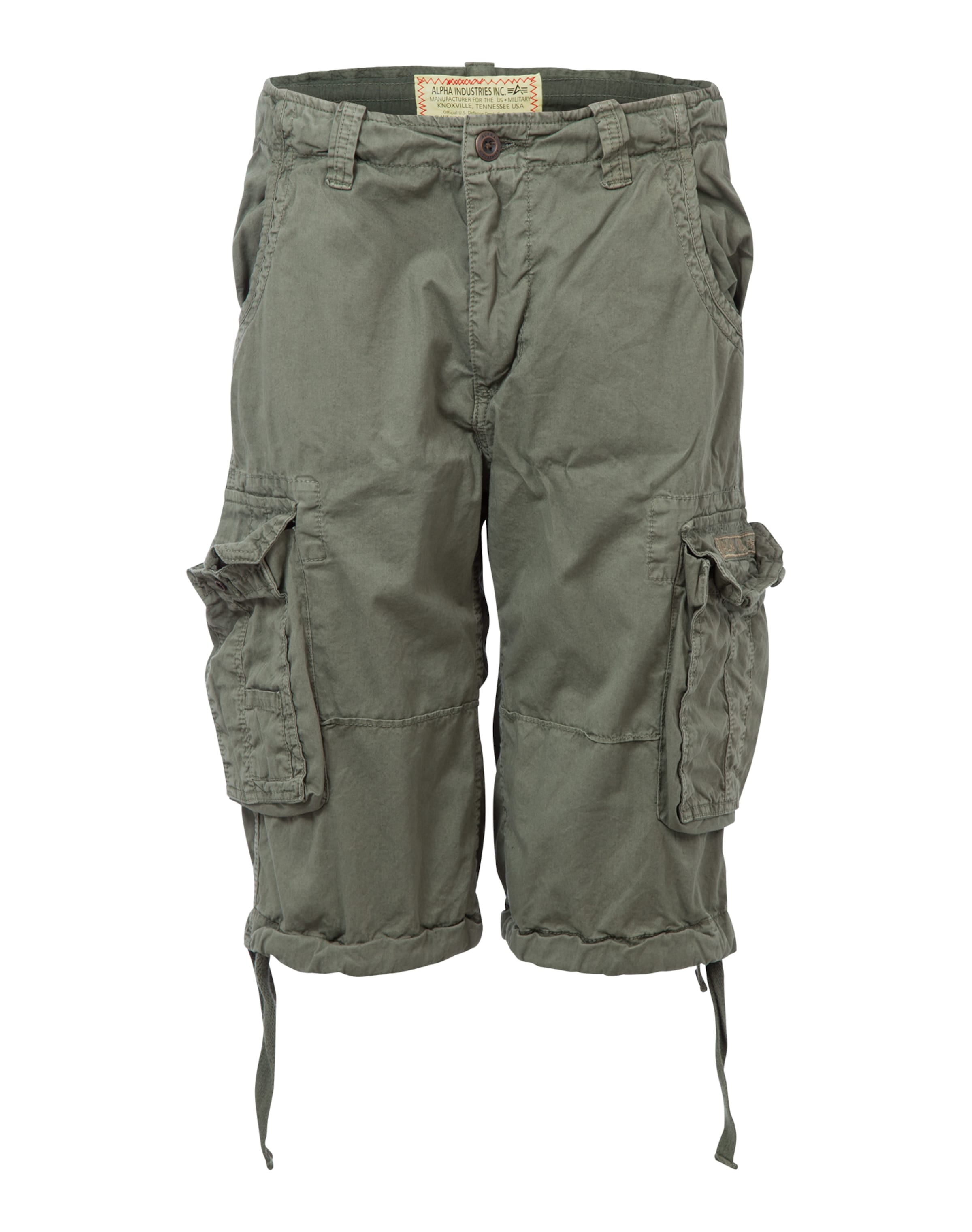 In Shorts Alpha Industries Khaki 'jet' XZ8n0OPNwk