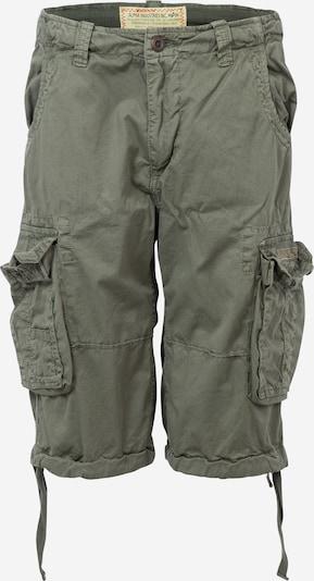 ALPHA INDUSTRIES Pantalon cargo 'Jet' en kaki, Vue avec produit