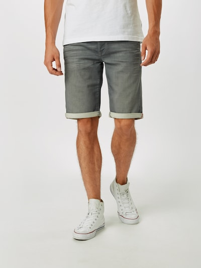 Petrol Industries Jeansshorts 'Jackson' in grey denim, Modelansicht