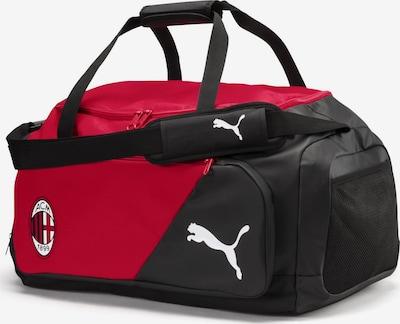 PUMA Mittelgroße Tasche 'AC Milan Liga' in dunkelrot / schwarz, Produktansicht
