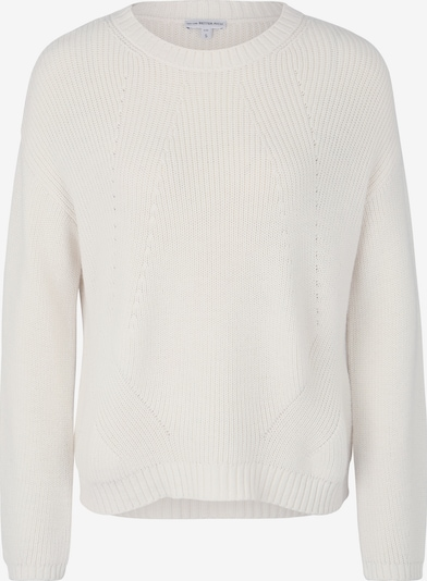 BETTER RICH Strickpullover 'Boxy Crew Rib' in weiß, Produktansicht