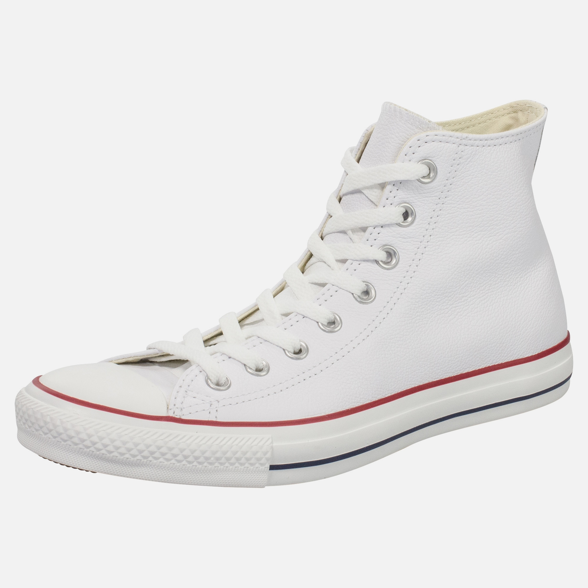 converse chuck taylor all star high leather sneaker in. Black Bedroom Furniture Sets. Home Design Ideas