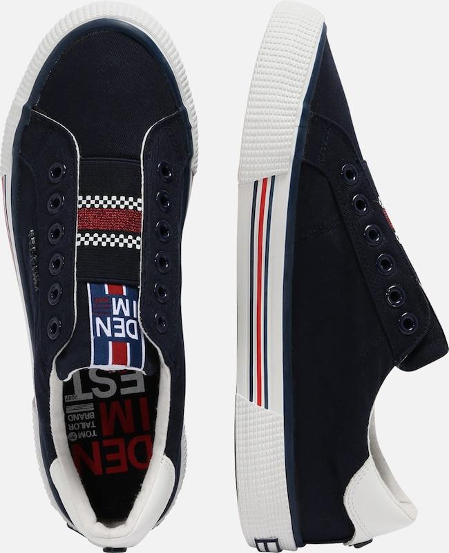 Tom Baskets Basses En Tailor Bleu Marine 8wNn0m