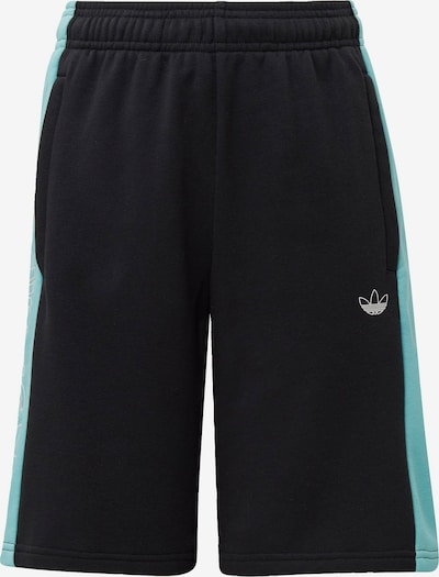 ADIDAS ORIGINALS Shorts 'Panel' in türkis / schwarz / weiß, Produktansicht