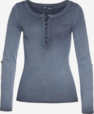 ARIZONA Shirt in taubenblau, Produktansicht