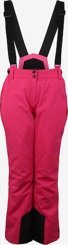 KILLTEC Vabaajapüksid 'Erielle', värv roosa