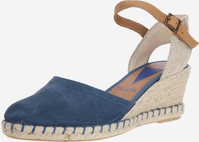 VERBENAS Sandalen 'SERRAJE' in beige / blau, Produktansicht