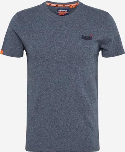 Superdry Shirt 'OL VINTAGE EMB CREW' in blau, Produktansicht
