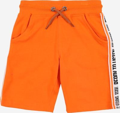 STACCATO Hlače | oranžna / črna / bela barva, Prikaz izdelka