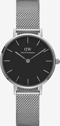 Daniel Wellington Uhr 'Classic Petite 28 Sterling DW00100218' in schwarz / silber, Produktansicht