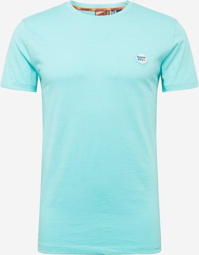 Superdry T-Shirt 'Collective' en turquoise, Vue avec produit