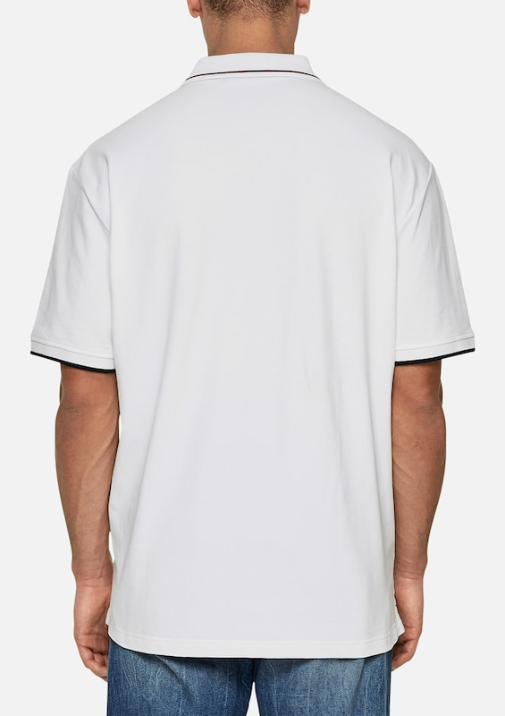 s.Oliver RED LABEL Poloshirt mit Kontrast-Detail