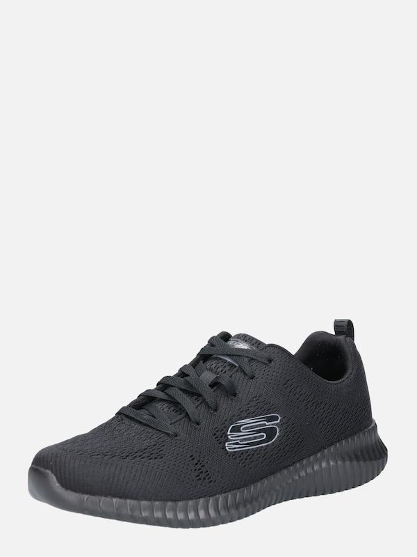 SKECHERS Sneaker 'ELITE FLEX CLEAR LEAF' in schwarz HUfXS