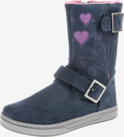 Friboo Stiefel in blau / pink, Produktansicht