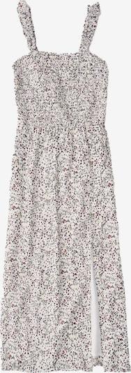 Abercrombie & Fitch Kleid 'SMOCKED BODICE MIDI DTC EXT' in weiß, Produktansicht