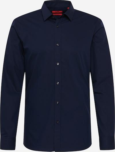 HUGO Zakelijk overhemd 'Elisha' in de kleur Marine, Productweergave
