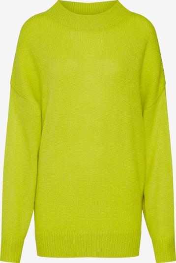 EDITED Pullover 'Ulani' in neongelb, Produktansicht