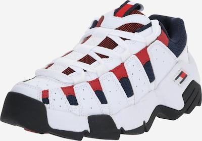 Sportbačiai be auliuko 'WMNS CHUNKY HERITAGE SNEAKER' iš Tommy Jeans , spalva - tamsiai mėlyna / raudona / balta, Prekių apžvalga