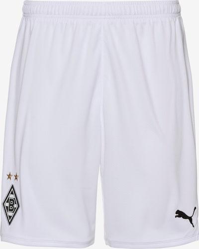 PUMA Fußballshorts 'Borussia Mönchengladbach' in weiß, Produktansicht