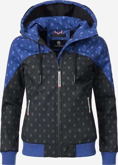 MARIKOO Jacke 'Nanoo' in blau / schwarz, Produktansicht