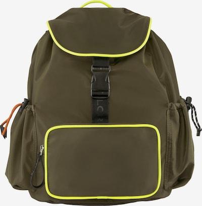 TOM TAILOR Bags Rucksack GENOVA in grün, Produktansicht