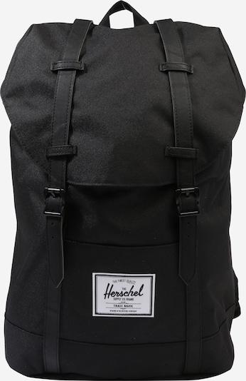 Herschel Rucksack 'Retreat' in schwarz, Produktansicht