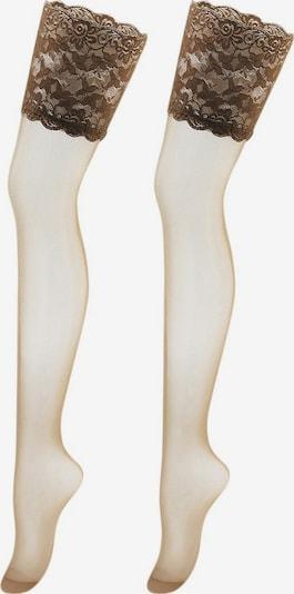 Ciorapi fin VIVANCE pe crem, Vizualizare produs