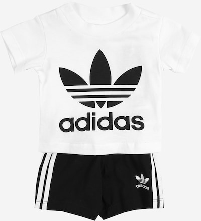 ADIDAS ORIGINALS Set in de kleur Zwart / Wit, Productweergave