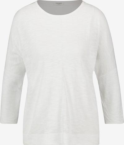 GERRY WEBER Pullover 3/4 Arm Rundhals 3/4 Arm Pullover mit Teilungsnähten in weiß, Produktansicht