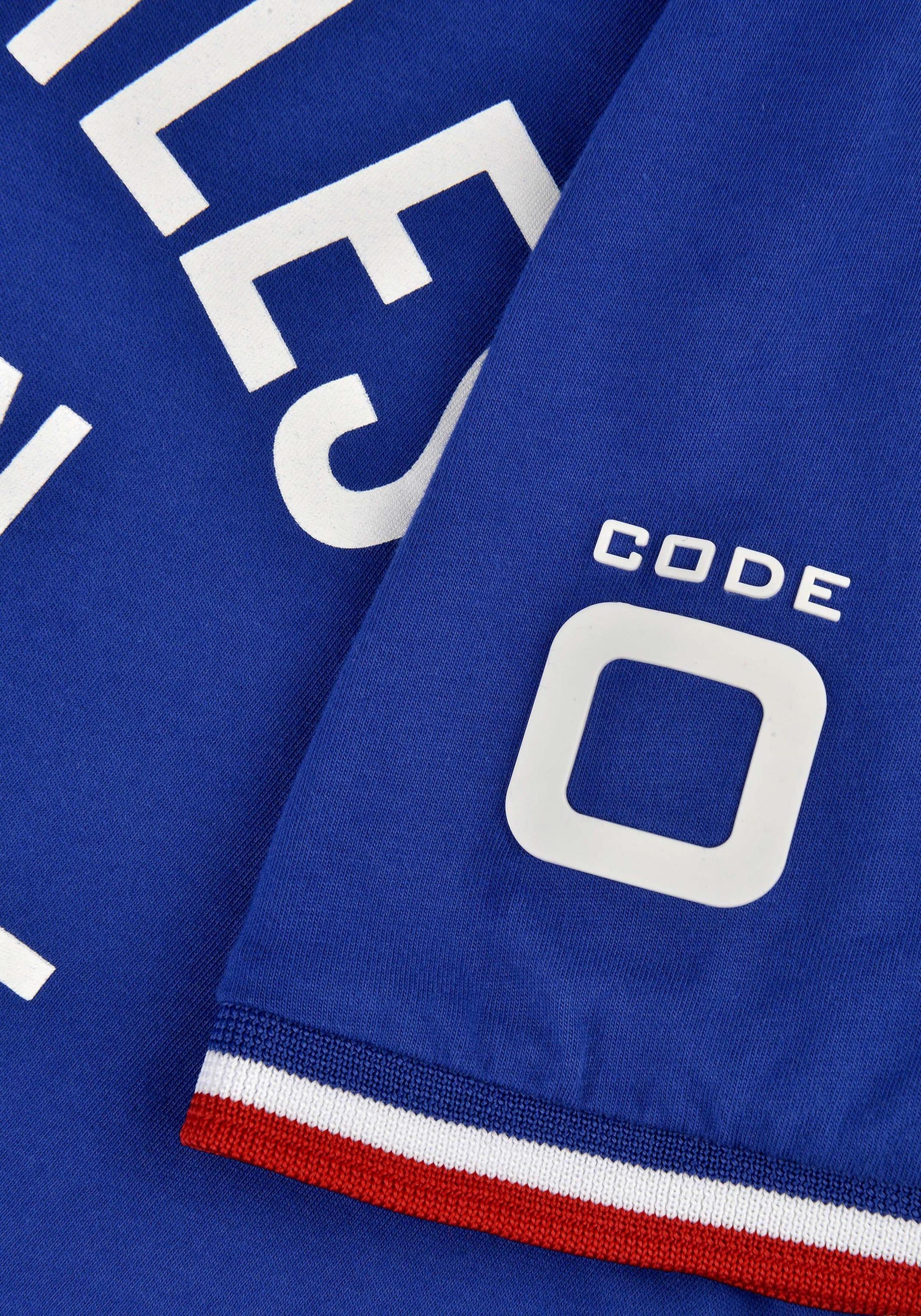 T BlauWeiß shirt 'ss zero Code Port Vauban' In A45RjL3q