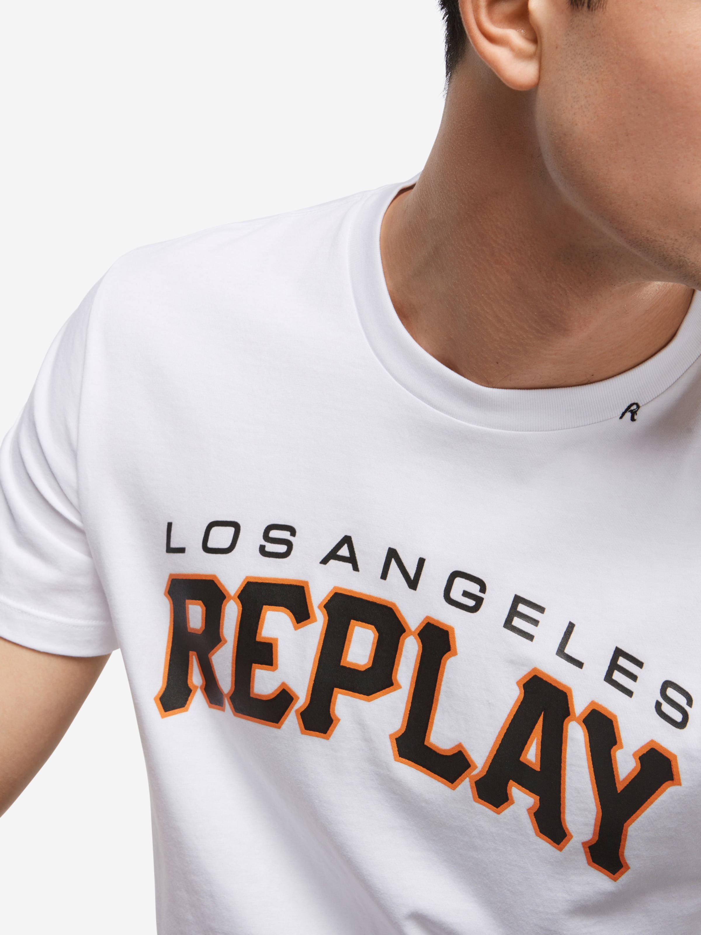 REPLAY T-Shirt Verkauf Online-Shopping Freie Versandrabatte Niedrige Versand Online Verkauf Footaction Online Kaufen AW5LG