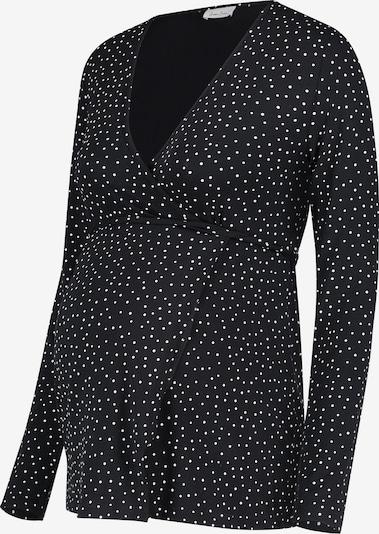 QUEEN MUM Top in schwarz / weiß, Produktansicht