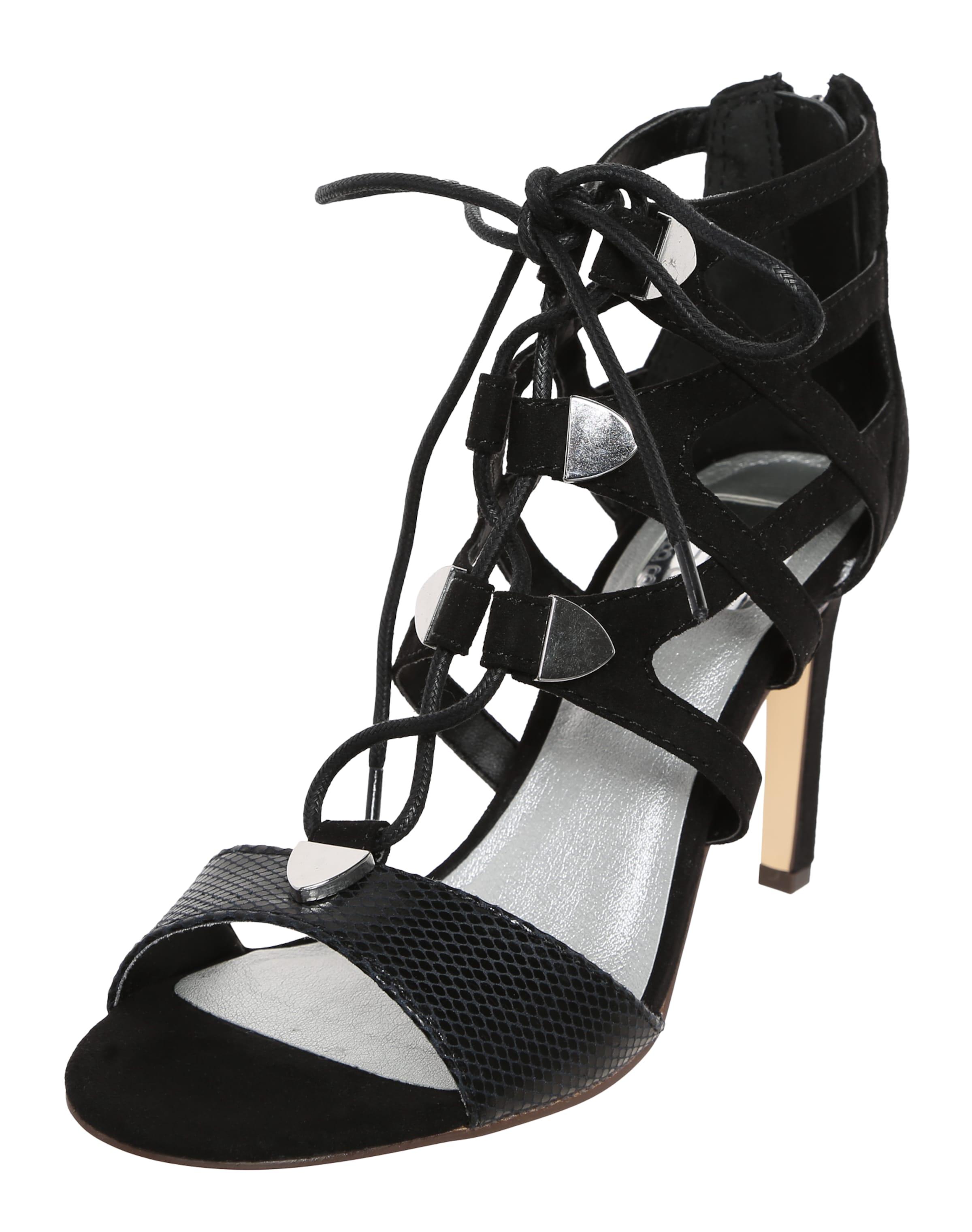BULLBOXER Sandalette mit Schnürung Authentische Online ATV9ELE