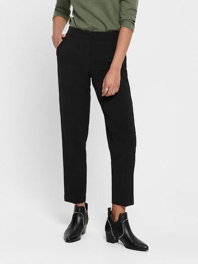 Pantaloni cu dungă 'Vilda-Astrid' ONLY pe negru, Vizualizare model