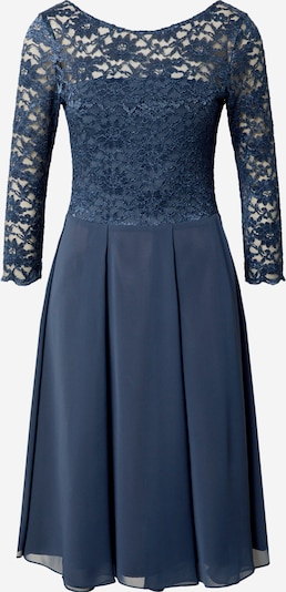 SWING Robe de soirée en indigo, Vue avec produit