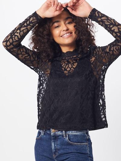 ONLY Shirt 'DORA' in de kleur Zwart: Vooraanzicht