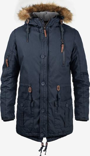 !Solid Winterparka 'Clark' in de kleur Blauw, Productweergave