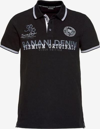 BRUNO BANANI Shirt in grau / schwarz / weiß, Produktansicht
