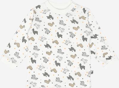 JACKY T-Shirt ' AOD  NOS LAMA' en gris / blanc, Vue avec produit
