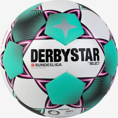 DERBYSTAR Ball in mint / pink / schwarz / weiß, Produktansicht